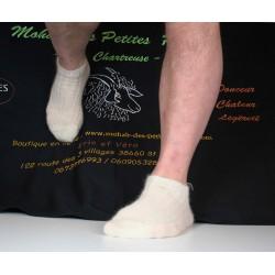 Chaussettes Socquettes écru