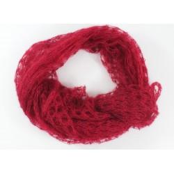 carré mousseux tricoté