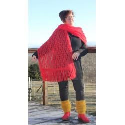 Étoles tricoté 2 fils
